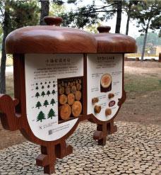 西山自然观察径步道标识设计案例